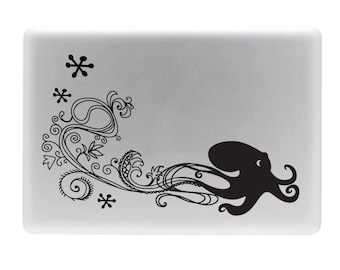 Spritely Octopus - Laptop Vinyl Decal