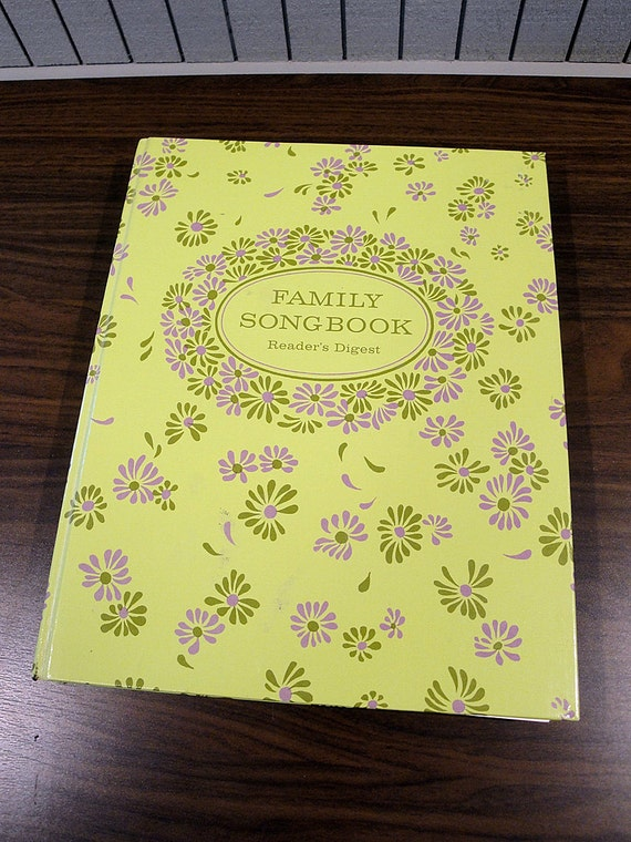 SALE - Reader's Digest Family Songbook - 1969
