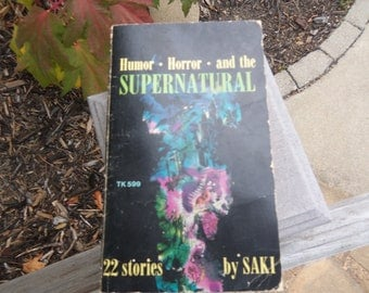 Vintage Book Humor Horror and the Supernatural