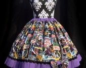 Star Wars Comic Book Lolita Skirt and Bow