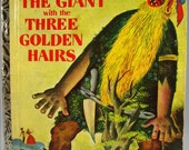 The Giant with the Three Golden Hairs, Brothers Grimm Fairy Tale, Golden Book, 1955, Mixed Media, Scrapbooking, Decoupage