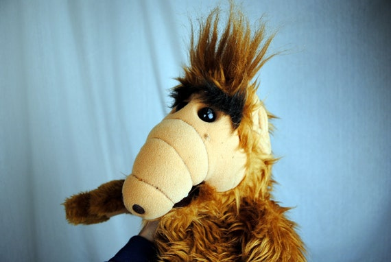 Vintage 80s Alf Doll