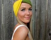 Build a Turban - Mix & Match - Custom Vintage Turban Style Stretch Jersey Knit Headband