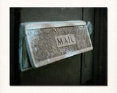 "New Orleans French Quarter Mailbox Photograph. Mardi Gras. 8""x10"" Print. Affordable Home Decor."