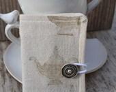 Steampunk Teapots Tapestry Tea Wallet