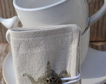 Steampunk Teapot Tea Wallet