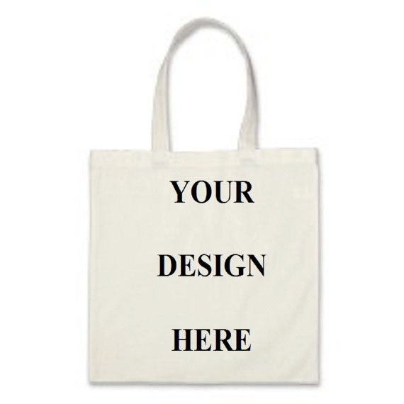 Custom Totes Gift Bags Promotional Totes White Cotton