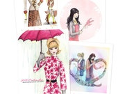2013 Fashion Illustrated Wall Calendar