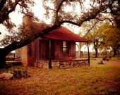 50% OFF PRINT SALE Cabin Art, Landscape Photo, Fall Wall Art, Pumpkin, Fall Leaves, Autumn, Kitchen Decor, Texas Hill Country, Country Decor