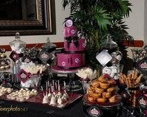 Printable Crown Royal Sweet Fifteen Birthday Party (PDF)