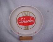 Vintage Schaefer  Beer - Bar Tray    New Old Stock