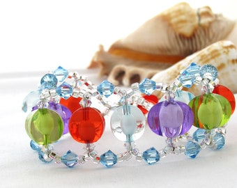 Colourful Spring Bracelet