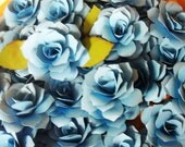 Paper Roses Qty 100 in any color 3 inches escort cards name placements embellishments Special Order
