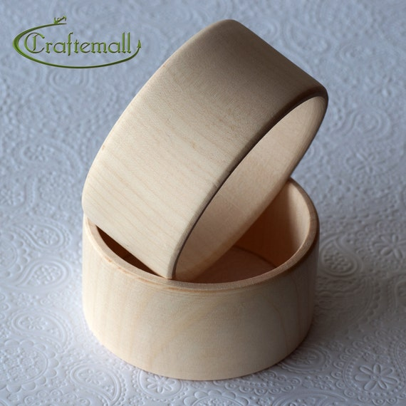 CLEARANCE: Set of 16 Wooden bangles - flat round 40mm wide size M, unfinished wooden bracelet, wood bracelet, wood bangle, raw wood bangle