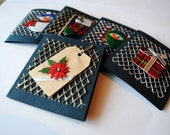 Set of 5 Christmas Note Cards