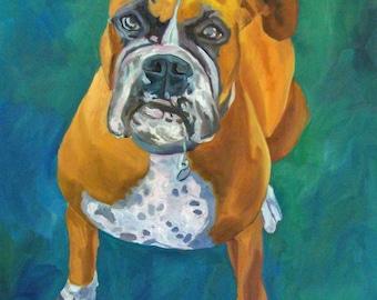 Boxer Dog Fine Art Download Print