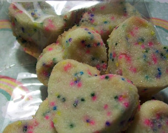 RAINBOW BrITES - THE BEST Shortbread Cookies - 12 cookies