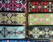 NON-SLIP HEADBAND...Pick one...Luxury Line...beautiful embroidered ribbon