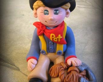 Polymer Clay Cowboy