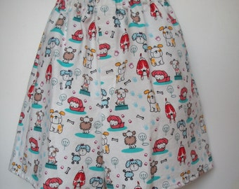 "Flannel Boxer Shorts / ""It's a Pup's Life"" / Large / 35 to 42"