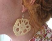 Lotus Root Earrings