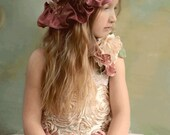Victorian Floral Hat