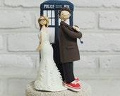 Doctor who wedding cake topper decoration gift keepsake
