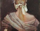 Queen - archival print of original oil painting