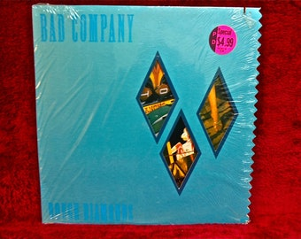 BAD COMPANY - Rough Diamonds - 1982 Vintage Vinyl Record Album...Promotional Copy