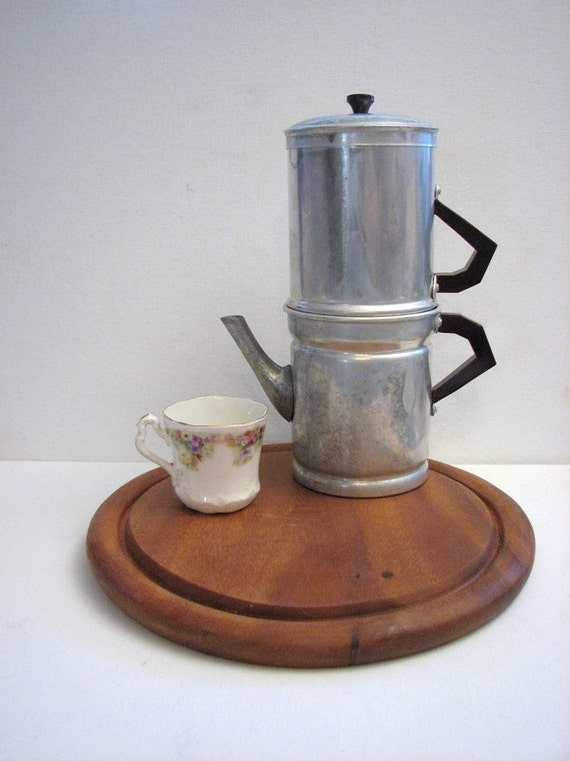 Neapolitan Flip Coffee Pot ~ Vintage ilsa neapolitan flip coffee maker s