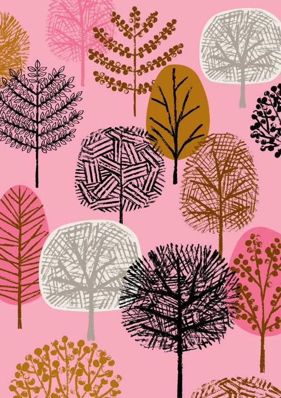 New Forest Pink, limited edition giclee print