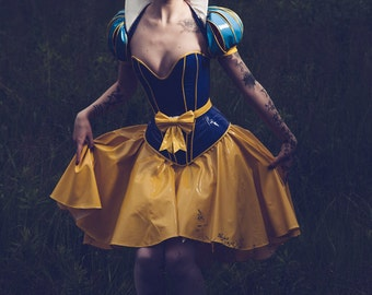 High quality 4 part PVC Snow white costume from Artifice Clothing (made to order)
