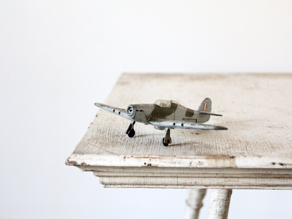 Vintage Dinky Toys - 1972 Hawker Hurricane MK IIC Toy Plane