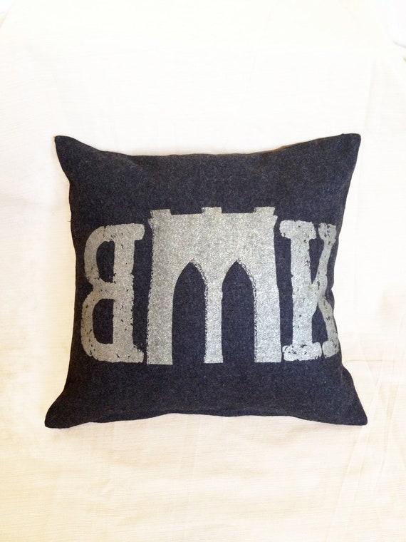 Brooklyn Bridge Pillows & Cushions   Redbubble