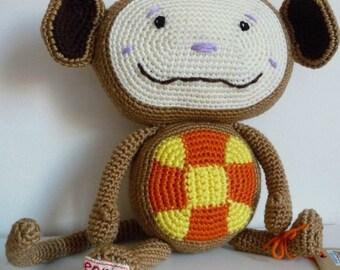 Oliver monkey amigurumi