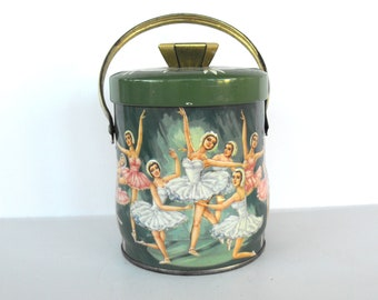 Ballerina Tin with Handle Made in England