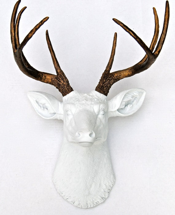 Faux Taxidermy deer on Etsy