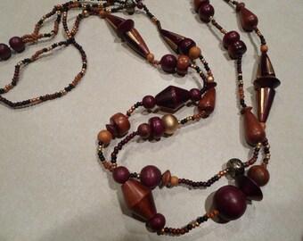 BOHO long Vintage Necklace