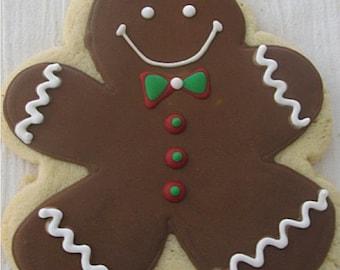 Gingerbread man cookies 2 dozen