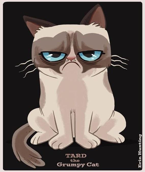 clipart grumpy cat - photo #41