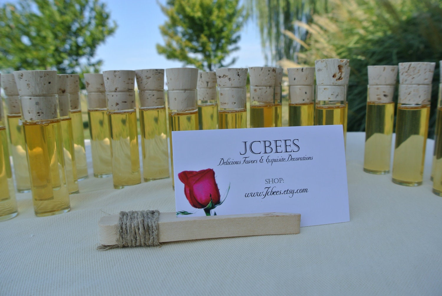 Bridal shower decor table setting place card holder by jcbees for Place settings name card holders