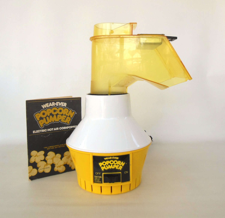 Wearever Popcorn Pumper Hot Air Corn Popper Coffee Roaster