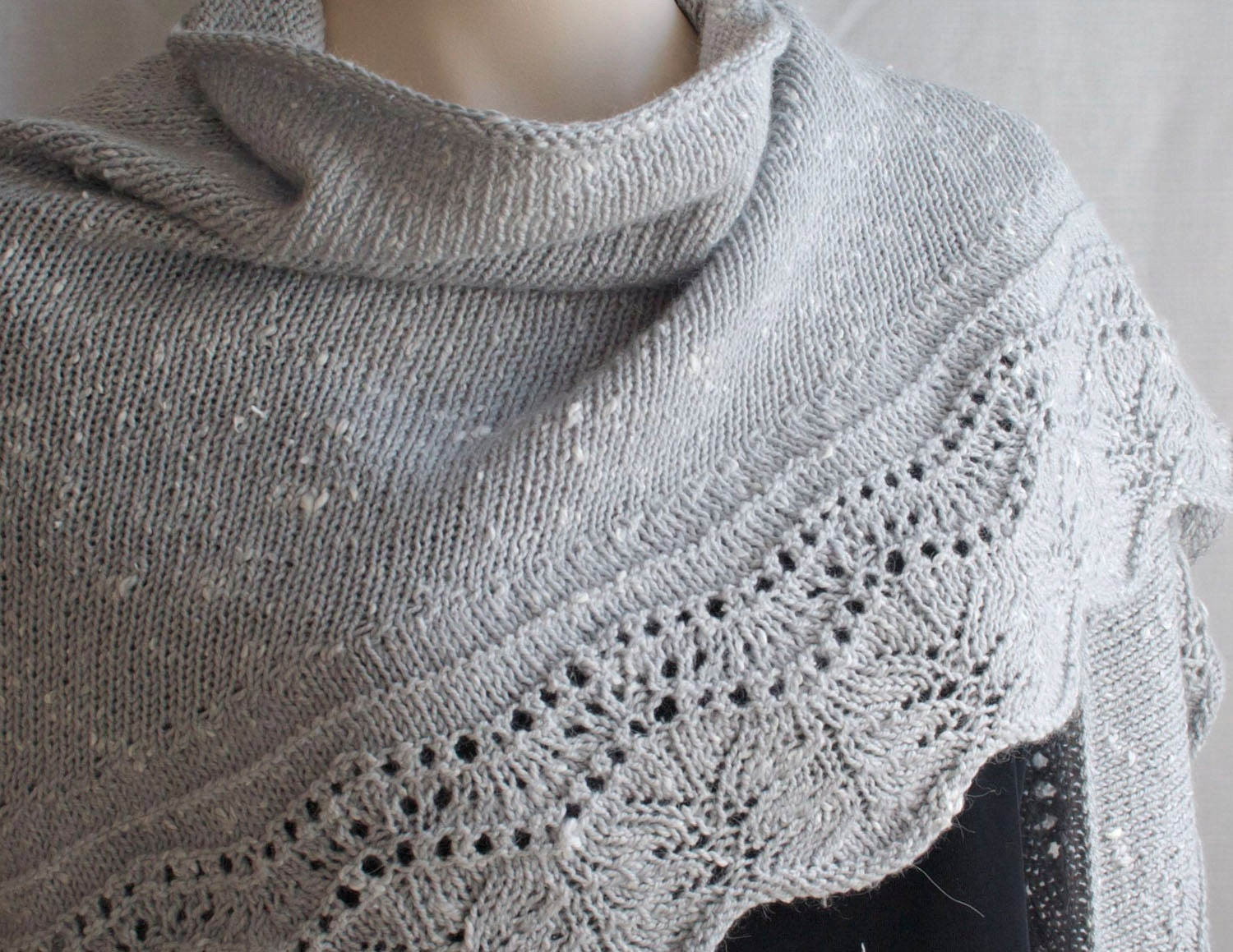 Knitting pattern shawl crescent shawl pattern knitting this is a digital file bankloansurffo Image collections
