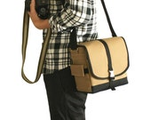 SALE 20% Off Using Coupon Code SHIBUYA - Aibo Camera Bag - water-repellent durable canvas & 5 exterior colors - Amber