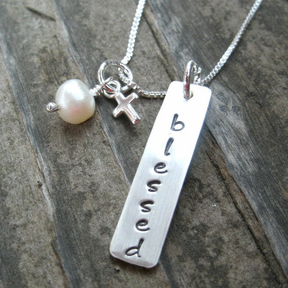 blessed necklace religious necklace religious necklace