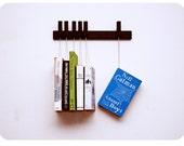 MINI Custom made wooden book rack / bookshelf in Wenge.
