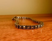 RESERVED FOR YAZ Sleek Marcasite Silver Bracelet Charles Winston Art Deco Style