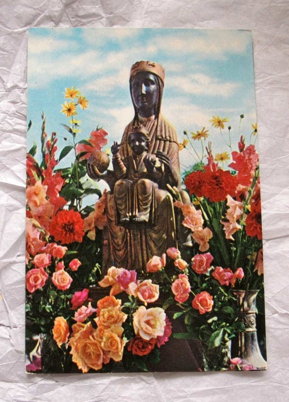 Holy Image Montserrat Vtg postcards (set of 3)