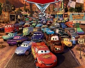 Disney Pixar Cars - Personalized Birthday Party Invitation - Lightning McQueen
