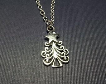 Christmas Tree Necklace Child Mom Girlfriend Friend Coworker Grandma Sister